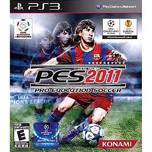 Pes 2011 - PS3 - Midia Fisica - Usado