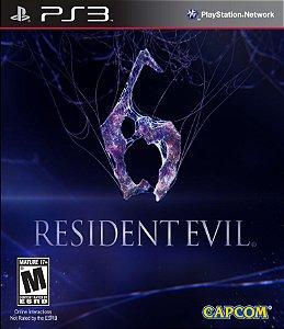 Resident Evil 6 - Ps3  - Midia Fisica - Usado