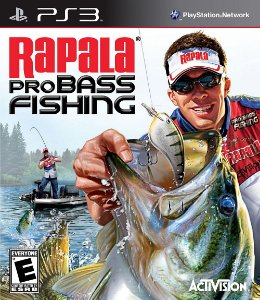 Rapala Pro Bass Fishing Ps3 - Midia Fisica - Usado