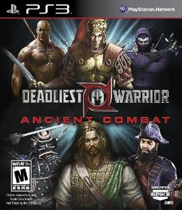 Deadliest Warrior: Ancient Combat Ps3 - Midia Fisica - Usado