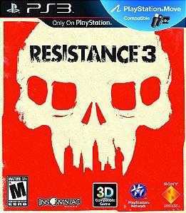 Resistance 3 -  Playstation 3 - Midia Fisica Usado