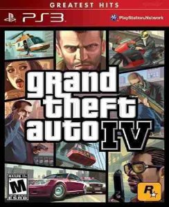 Gta 4 Grand Theft Auto IV Ps3 Midia Fisica Usado