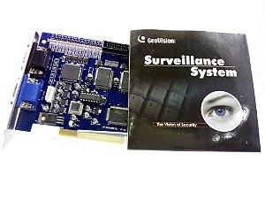 Placa Captura Vídeo Geovision Gv-650/800 V3.53 (s) Sem Caixa
