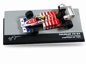 Miniatura De Carro Formula 1 Ayrton Senna Tg184