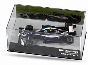 Miniatura De Carro Formula 1 Bruno Senna Fw34