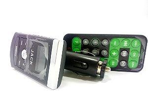 Transmissor Fm Veicular Usb Kb-025