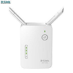 Repetidor D-link Wireless N 300MBPS 2x antenas externas +porta rede Fast DAP-1330