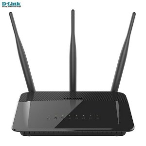 Roteador D-link Wireless AC 750Mbps Dualband (2,4 & 5GHz) 802.11