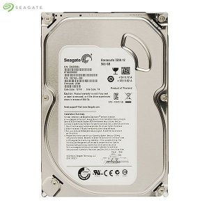 HD 500GB Seagate SATA 3,5´ Desktop HDD 7200RPM 16MB Cache SATA 6Gb/s - ST500DM002