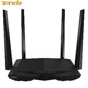 Roteador Tenda Wireless Dual Band, 1200MPBS, 4 Antenas - AC6