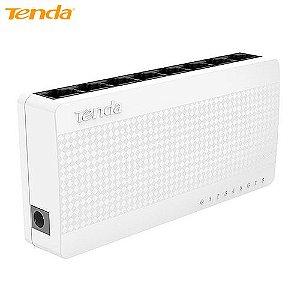 Switch Tenda 10/100MBPS 1.6GBPS Desktop, 8 Portas - S108
