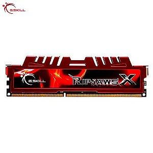 Memória 8GB PC DDR3 RipjawsX Series 2x4GB 2133MHz - PC3-17000 - CL11 F3-17000CL11D-8GBXL - G-Skill