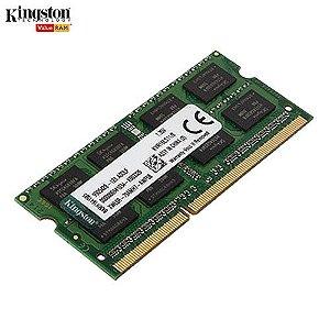 Memória 2GB Notebook DDR2 Kingston ValueRAM 667Mhz PC2-5300 CL5 200-Pin SODIMM - KVR667D2S5/2G