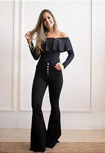 54b439f35 Calça Jeans Flare Cru - Bella Donna Boutique RC