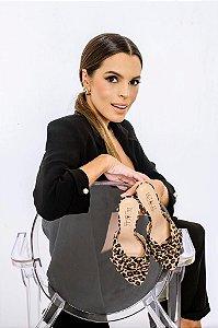 Tamanco Leopardo - Carol Lisboa