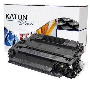 Toner Preto Katun Select p/ uso em HP CE255X CE255XB | P3015 P3015DN M521DN M525 M525DN | Katun Select 12.5k