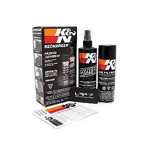 Kit de limpeza filtro ar com óleo em aerosol K&N 99-5000