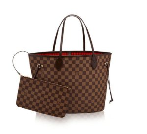 d81f7ae2a1c BOLSA LOUIS VUITTON NEVERFULL GM - CANVAS DAMIER ÉBÈNE