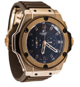 d36c4853ab0 RELÓGIO HUBLOT BIG BANG - KING POWER (GOLD BROWN)