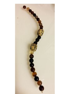 Brown Agate Bracelet