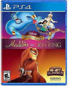 Disney Classic: Aladdin e O Rei Leão (Rei Leão) - PS4