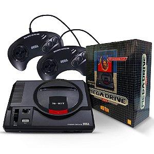Console Mega Drive Tec Toy + 2 Controles + 22 Jogos na Memória
