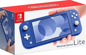 Console Nintendo Switch Lite Cor Azul Escuro (Seminovo) - Switch