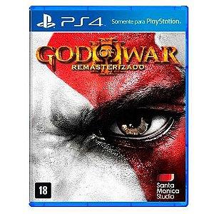 Jogo God of War 3: Remastered - PS4