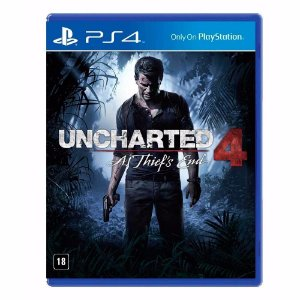 Jogo Uncharted 4: A Thief's End (Seminovo) - PS4