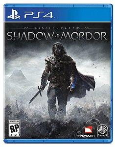 Jogo Terra Média: Sombras de Mordor - PS4 - SEMINOVO