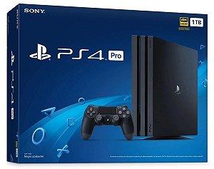Console PlayStation 4 Pro 4k - 1 Tb 1 Tera - Sony