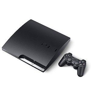 Console PlayStation 3 Slim (+ Jogo de Brinde) - Seminovo - Sony