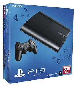 Console PlayStation 3 Super Slim 250/500GB (+ Jogo de Brinde) - Sony - Semi Novo