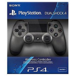 Controle Sony Dualshock 4 (Edição Steel - Chumbo) Sem Fio - PS4