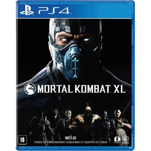 Jogo Mortal Kombat XL (Seminovo) - PS4