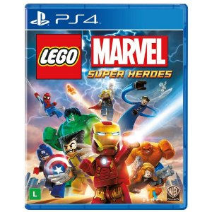 Jogo Lego Marvel Super Heroes (seminovo) - PS4