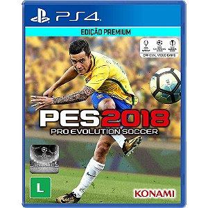 Jogo Pro Evolution Soccer 2018 PES 18 - PS4