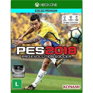 Jogo Pro Evolution Soccer 2018 PES 18 - Xbox One