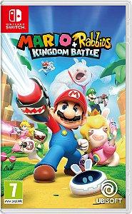 Jogo Mario + Rabbids Kingdom Battle (Seminovo) - Nintendo Switch