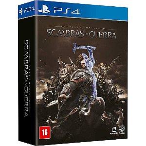 Sombras da Guerra Terra Média - Edição com Mapa - PS4
