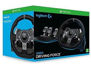 Volante Logitech G920 Para Xbox One e PC