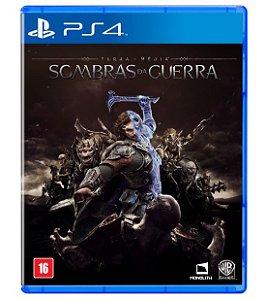 Sombras da Guerra Terra Média (Seminovo) - PS4