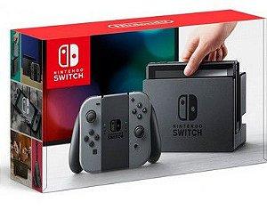 Console Nintendo Switch Gray Cinza - SEMINOVO