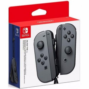 Controle Joy Con Nintendo Switch Par Cinza - Switch