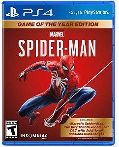 Spider Man Homem Aranha (Edição Jogo do Ano) - Ps4