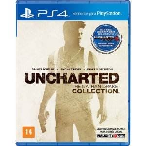Uncharted The Nathan Drake Collection (Seminovo) - PS4