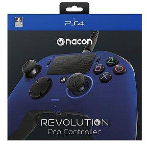 Controle Revolution Pro Nacon para Playstation 4 - Azul