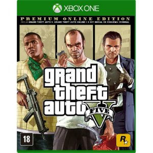 GTA V - Premium Online Edition - Xbox One