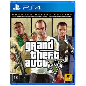 GTA V - Premium Online Edition - PS4
