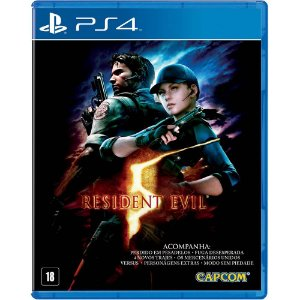 Resident Evil 5 (Seminovo) - PS4